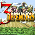 Control up to 3 defenders as waves of enemies try to overrun your base.