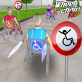 Race with granny in a wheelchair, try some super 3D racing right here!