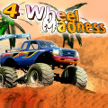 Drive your monster truck thru the obstacles without wrecking.