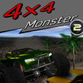 Jump in your monster truck & drive over obstacles, keeping it balanced.