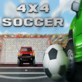 What could be more fun than playing soccer .. using 4x4 trucks to play!