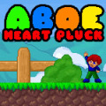 Guide Aboe to collect all the hearts in this simple puzzle-platform game