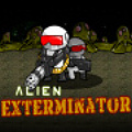 Buy big guns, hire henchman, & exterminate the aliens in this shooter!