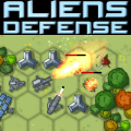 A tactical defense/strategy game where the monsters are intelligent.