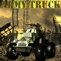 Hop into your army truck and try to escape the warzone!
