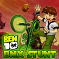 Hop on a Bmx with Ben 10 and help him in performing mad tricks.
