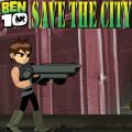 Help Ben 10 kill the monsters & collect the weapon boxes on the road.