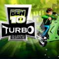 Help Ben 10 race through the rough terrain to collect point gadgets.