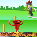 Help Gingka use his hoverboard to dodge the obstacles & find his balder.