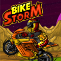 Race thru 15 challenging levels of ramps, jumps, pits of fire & more!