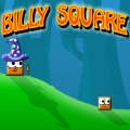 Billy the Square needs your help to reach the goal of each level.
