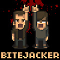 A zombie shooter based on the game review show, Bytejacker.