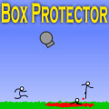 Use over 20 weapons to stop the stickmen attacking your box!