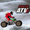 Race over rugged terrain on an ATV quad bike in this challenging title.