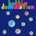 A simple strategy game where the goal is to conquer the enemy bubbles.