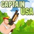 As Captain USA, eliminate all the soldiers through various levels.