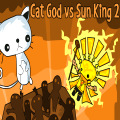Cat God is back for a 2nd battle against the Sun King & his minions!