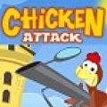 Defend your position from the infected chickens.