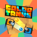 Enter the arena in a paint shooting tank, blast your way to victory.