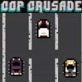 You are a cop chasing criminals in this game of action, pixels & more!