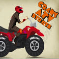 Ride your ATV in this crazy stunt game. Challenging!