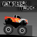 In this crazy monster truck game, try to collect the stars.