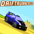 Fast paced cross-country racing game with unlocks, upgrades, and zones.