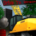 Drive a crane over obstacles & use your wrecking ball to clear a path.