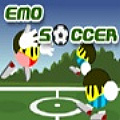 Play 3 on 3 soccer with your cute emo players.