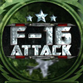 You are on a mission to fly your F-16 fighter plane & attack the enemy.