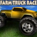 Drive your truck on the farm, beat your opponents to the finish line.
