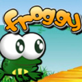 Help Froggy collect the stars & bugs & lifes & whatever else comes along