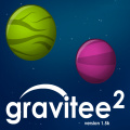 Gravitee is back! Play thru 40 levels of Interstellar golf!