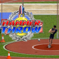 Time to test your skills in the hammer throw!