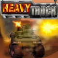 Drive a big military truck equiped by various heavy weapons.