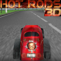Another 3D racing game, this one using hot rod cars.
