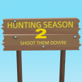Hunting season is here again, shoot all them little animals.