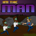 Run for your life while trying to kill the attacking zombies!