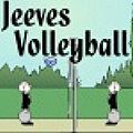 Cute twist. Would you fancy a game of volleyball, sir?