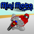 Race your mini moto around each track as fast as you can.