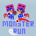 How long can you survive the attack of the 8-bit monsters??