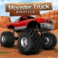Drive the monster truck across the Americans tough mountains.