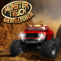 Pick your monster truck, then demolish all the cars.