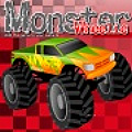 Select your favorite monster truck & race it thru the obstacle course.