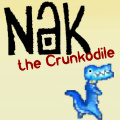 Help the Crunkodile collect gold from the temple before it is stolen.