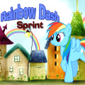 Help Rainbow Dash reach run 600m as fast as possible!