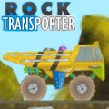 Transport rocks from the mining area to the sorting zone.