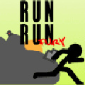 Run like a madman & shoot as many cops as you can before they drop you!