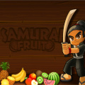 Become a Samurai, obsessed with cutting fruits using your katana.
