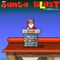 Get Santa as high as possible using